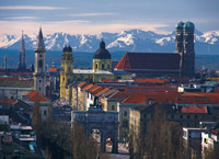 Munich Panorama; photo by Rudolf Sterflinger TAM MUC